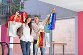 Kaç alışveriş — Stok fotoğraf