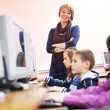 It education with children in school — Stock Photo #4399723