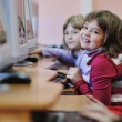 It education with children in school — Stock Photo #4400256