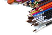Artistic tools — Stock Photo