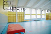 School gym — Stock Photo