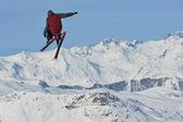 Skier — Stock Photo