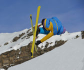 Skier — Stock Photo