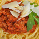 Постер, плакат: Italian spaghetti