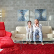 Couple relax at home — Stock Photo #49253975