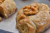 Traditional dessert Turkish baklava — 图库照片