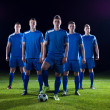 Soccer players team — Stock Photo #49351447
