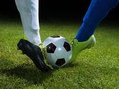 Soccer players — Zdjęcie stockowe