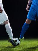 Fußball-spieler — Stockfoto