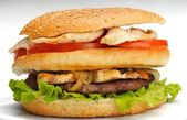 Fast food hamburgery — Stock fotografie
