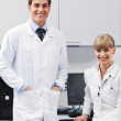Science in bright lab — Stock Photo #5481269