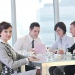 Group of business at meeting — Stock Photo #5689110
