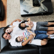 Young family at home — Stockfoto #6022056
