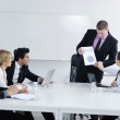 Business group on meeting — Stock Photo #9540046