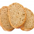 Three slices of bread - Stock Photo