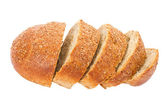 Sliced loafs of bread — Stock fotografie