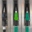 Gasoline pump nozzles — Stock Photo #11414563