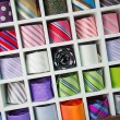 Colorful tie collection — Stock Photo #14041529