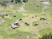 Małej miejscowości w pobliżu: zermatt — Zdjęcie stockowe