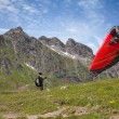 Paragliding — Stock Photo #17378419