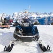 Snowmobile — Stockfoto