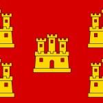 Poitou Charentes flag — Stock Photo #12260517