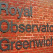 Greenwich Observatory — Stock Photo #14027183