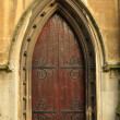 Heath Street Baptist Church door — Stock Photo