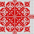 Romanian popular pattern — Foto Stock