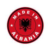 Made in albania — Stock Photo