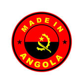 Made in angola — Stock Photo