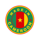 Made in cameroon — Stock Photo