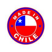 Wykonane w chile — Zdjęcie stockowe