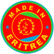 Made in eritrea — Stock Photo