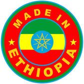 Made in ethiopia — Stock Photo