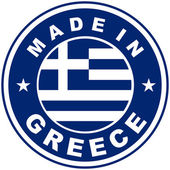 Made in greece — Stock Photo