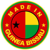 Made in guinea bissau — Stock Photo