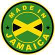 Made in jamaica — Stock Photo