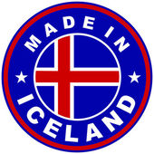Made in iceland — Stock Photo
