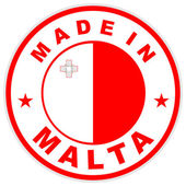 Made in malta — Stockfoto