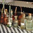 Old laboratory glassware  — Stock Photo