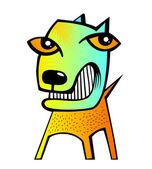 Abstract dog — Stock Photo