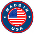 made in usa — Stockfoto