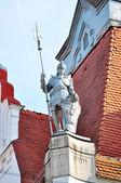 Knight statue — Stock Photo