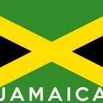 Flag of Jamaica — Stock Photo #43042827