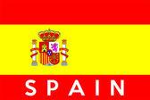 Flag of Spain — Stockfoto