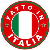 Fatto in italia — Foto Stock