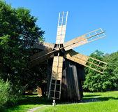 Sibiu ethno museum wind mill — Stock Photo