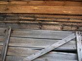 Struttura di pannelli in legno — Foto Stock