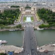 Paris from Eiffel Tower — Stock Photo #23597979